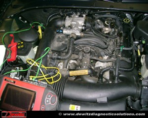 2000 Lincoln LS Engine