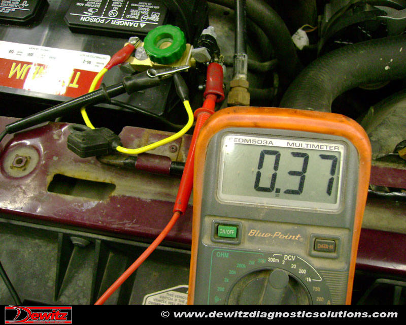 Parasitic Battery Draw | 1990 Ford F150 | Dewitz Diagnostic