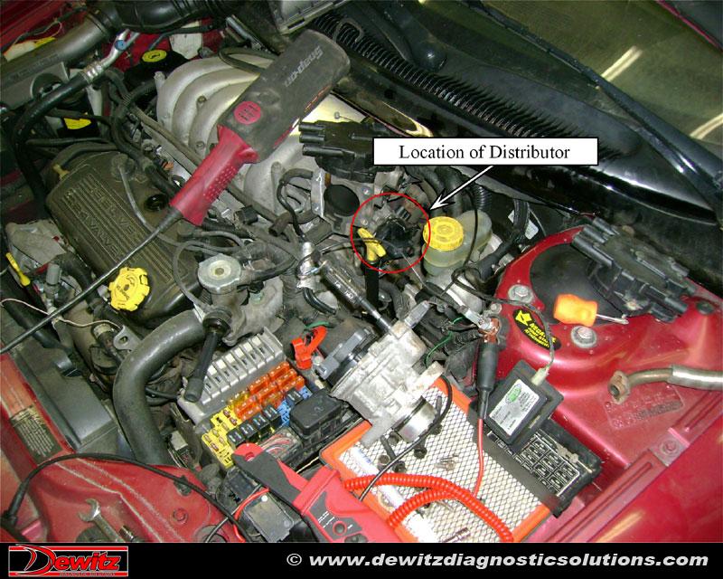Sebring Distributor Big on 2005 Chrysler Sebring Battery Location