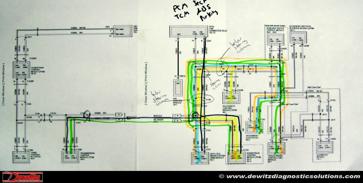 2004 Ford F350 6.0 Engine Wiring Harness - Wiring Diagrams F Transmission Wiring Diagram on