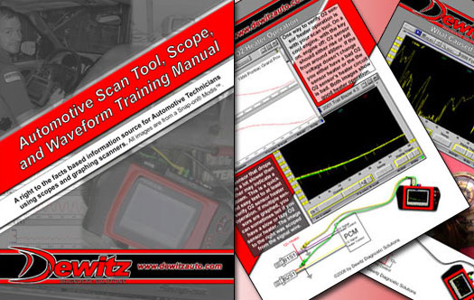 Automotive Diagnostic Scope Training Manual Ad with Pages